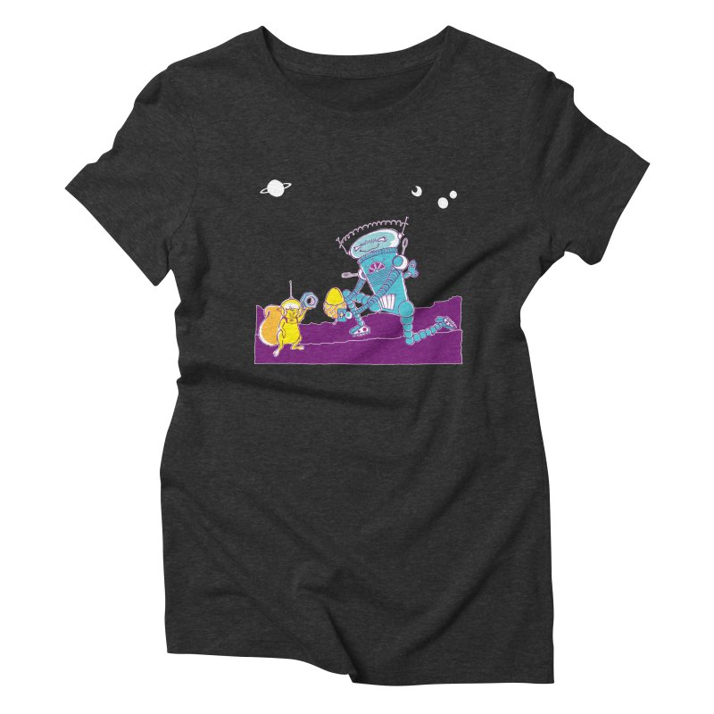 Nuts! You've Got My Nuts, I've Got Yours! Women's Triblend T-Shirt by John D-C
