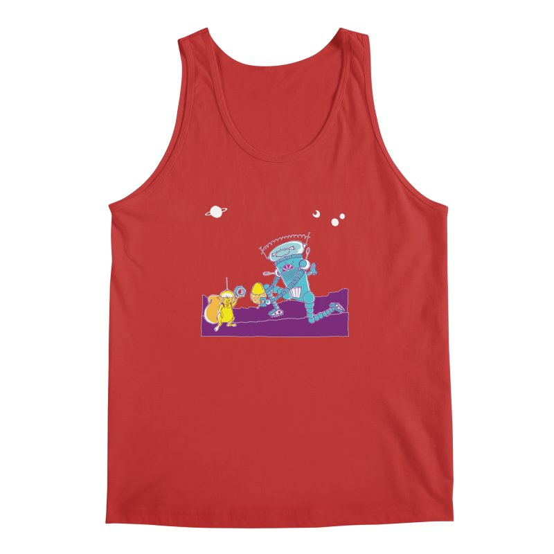 Nuts! You've Got My Nuts, I've Got Yours! Men's Tank by John D-C's Artist Shop