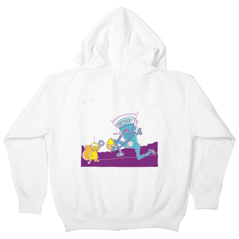 Nuts! You've Got My Nuts, I've Got Yours! Kids Zip-Up Hoody by John D-C's Artist Shop