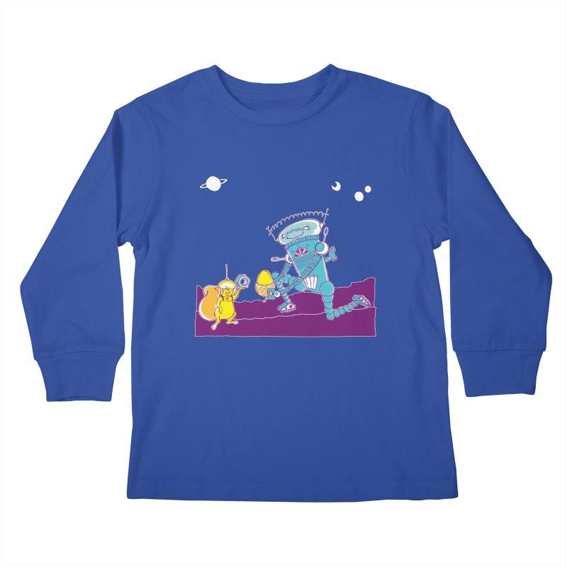 Nuts! You've Got My Nuts, I've Got Yours! Kids Longsleeve T-Shirt by John D-C