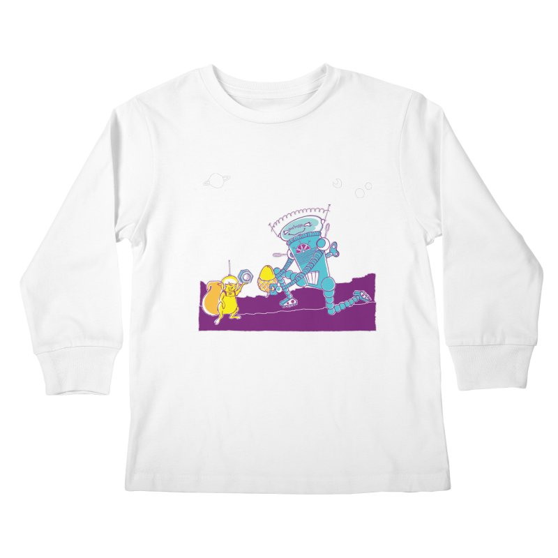 Nuts! You've Got My Nuts, I've Got Yours! Kids Longsleeve T-Shirt by John D-C's Artist Shop