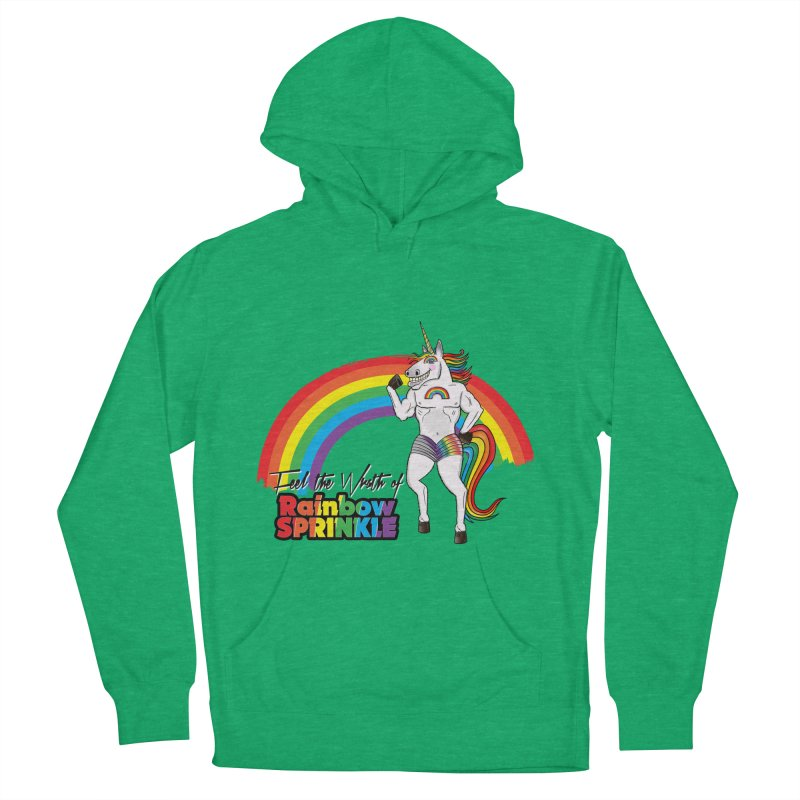 Feel The Wrath Of Rainbow Sprinkle Women's Pullover Hoody by John D-C's Artist Shop