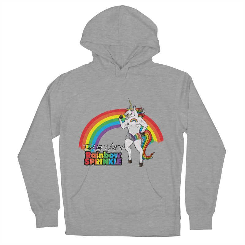 Feel The Wrath Of Rainbow Sprinkle Women's French Terry Pullover Hoody by John D-C
