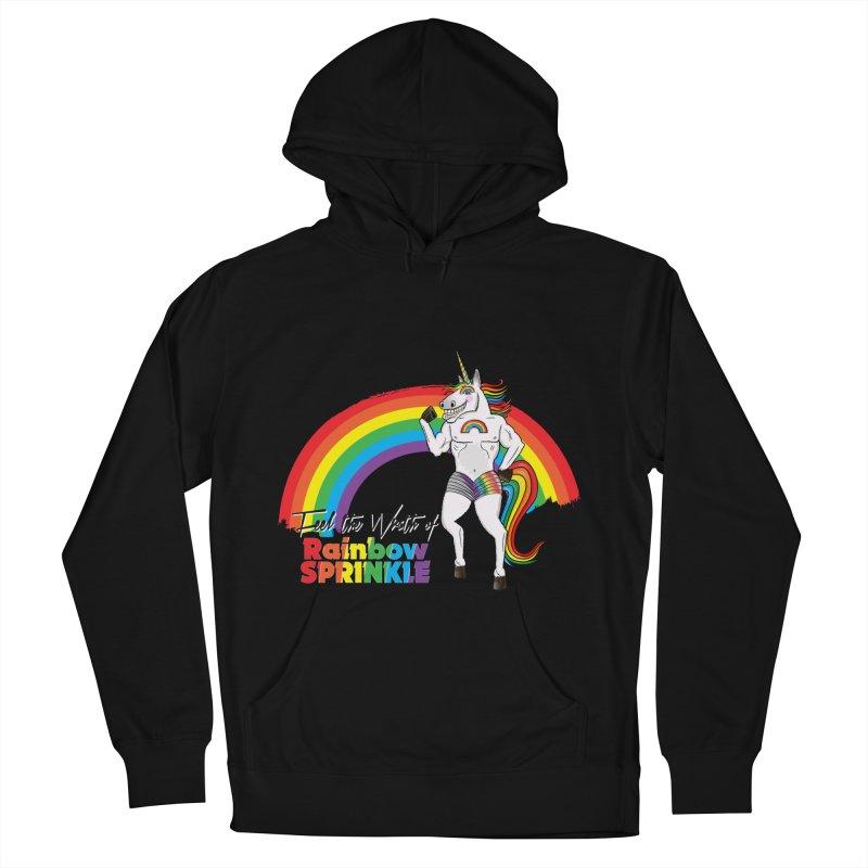 Feel The Wrath Of Rainbow Sprinkle Women's Pullover Hoody by John D-C's Artist Shop