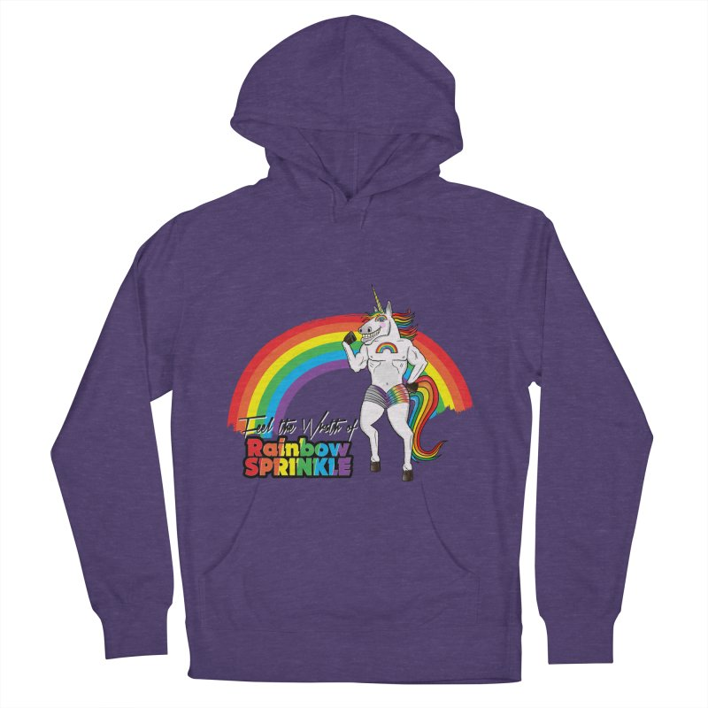 Feel The Wrath Of Rainbow Sprinkle Men's French Terry Pullover Hoody by John D-C