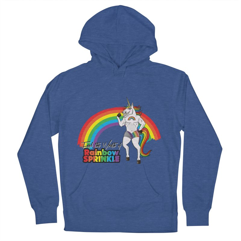 Feel The Wrath Of Rainbow Sprinkle Men's Pullover Hoody by John D-C's Artist Shop