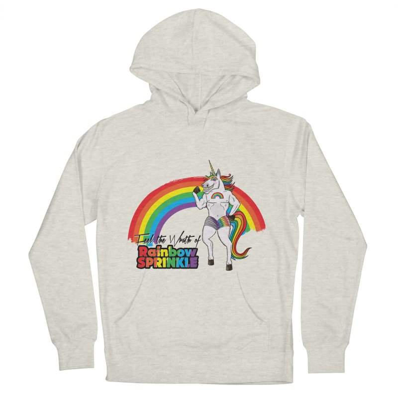 Feel The Wrath Of Rainbow Sprinkle Men's Pullover Hoody by John D-C's Artist Shop