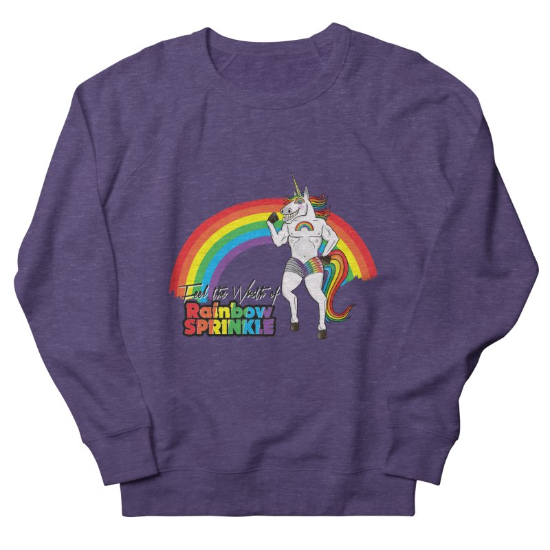 Feel The Wrath Of Rainbow Sprinkle Women's French Terry Sweatshirt by John D-C