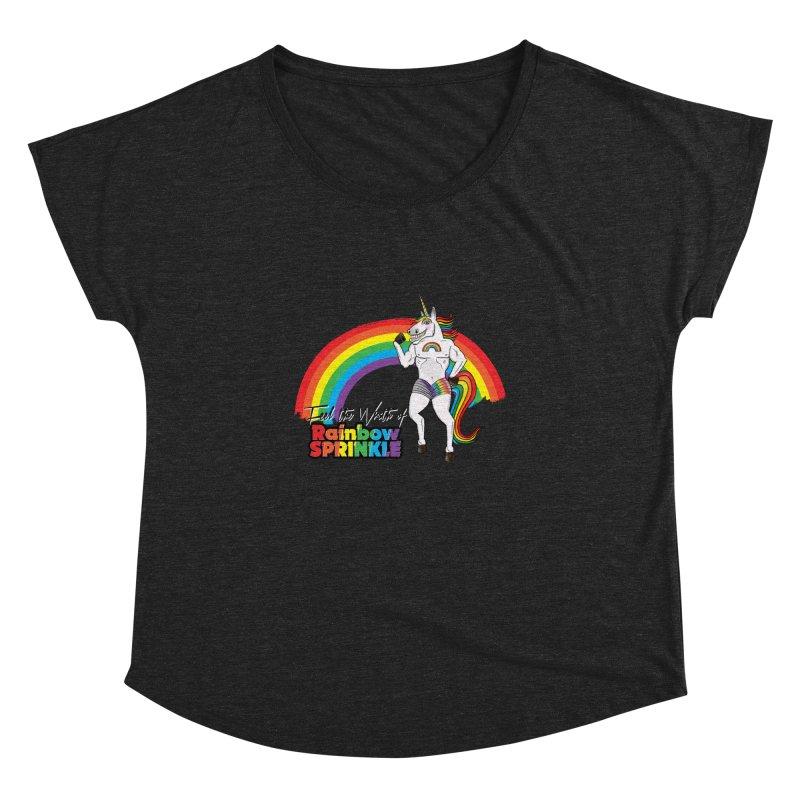 Feel The Wrath Of Rainbow Sprinkle Women's Dolman by John D-C's Artist Shop