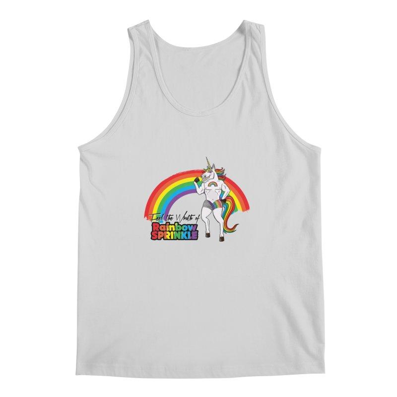 Feel The Wrath Of Rainbow Sprinkle Men's Tank by John D-C's Artist Shop