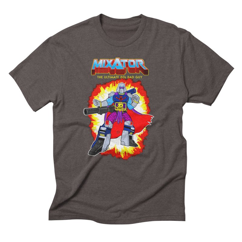 Mixator - The Ultimate 80s Bad Guy Men's T-Shirt by John D-C's Artist Shop