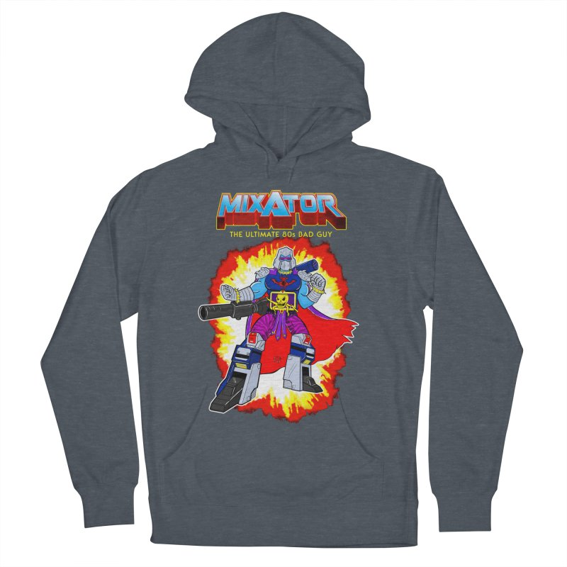Mixator - The Ultimate 80s Bad Guy Men's Pullover Hoody by John D-C's Artist Shop