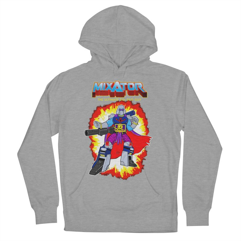 Mixator - The Ultimate 80s Bad Guy Men's French Terry Pullover Hoody by John D-C