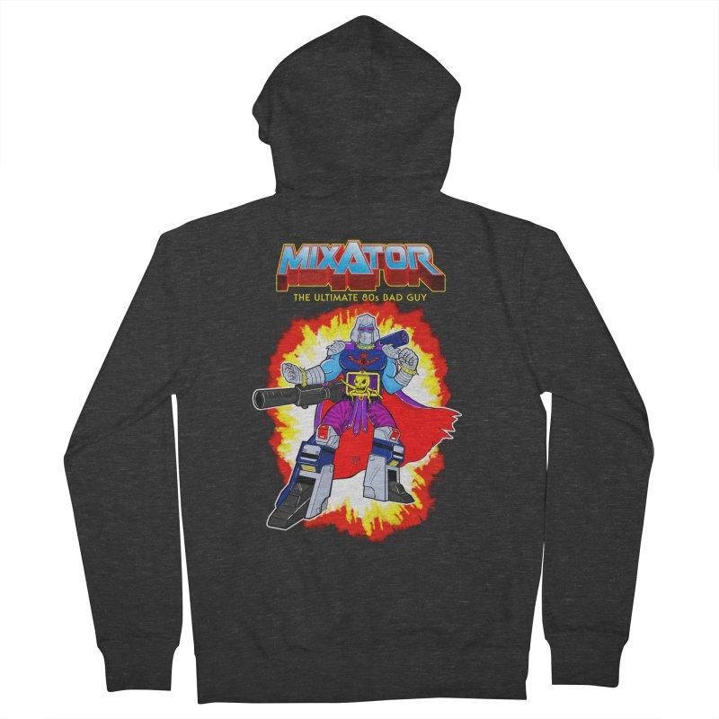 Mixator - The Ultimate 80s Bad Guy Men's Zip-Up Hoody by John D-C's Artist Shop