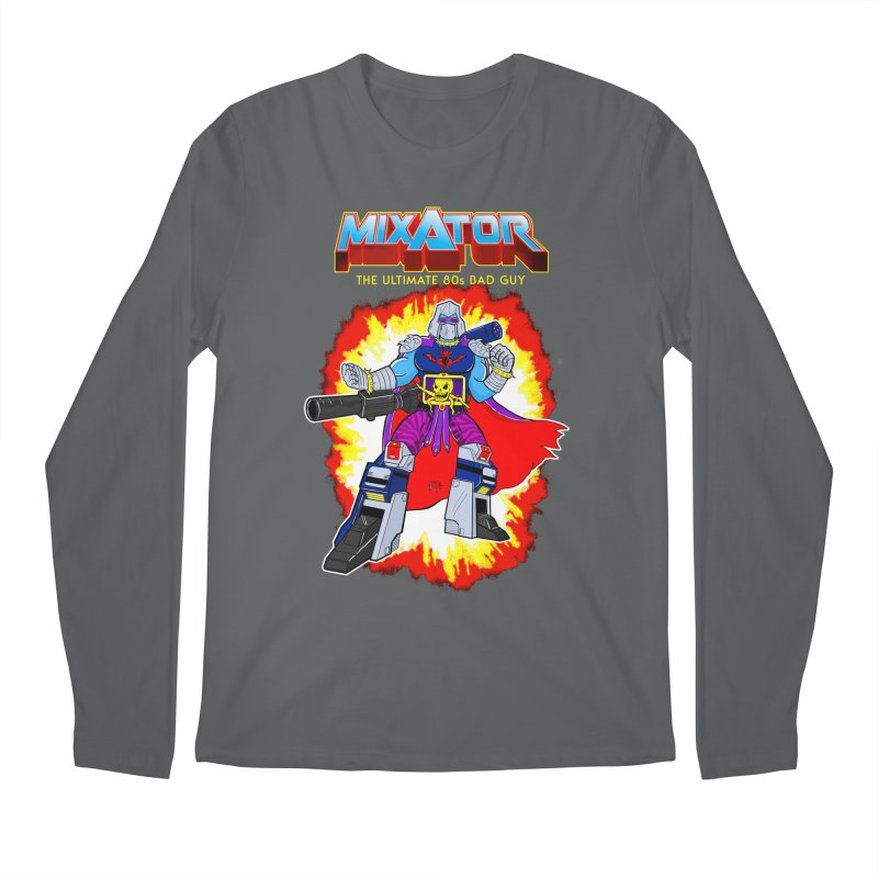 Mixator - The Ultimate 80s Bad Guy Men's Regular Longsleeve T-Shirt by John D-C