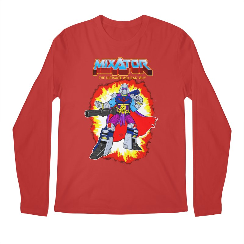 Mixator - The Ultimate 80s Bad Guy Men's Regular Longsleeve T-Shirt by John D-C