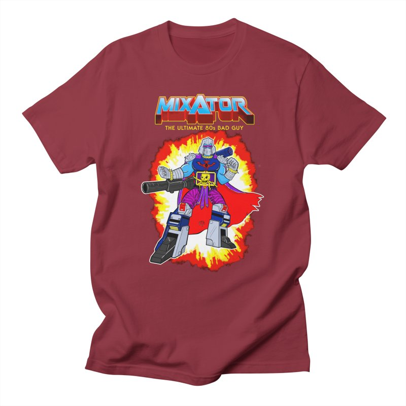 Mixator - The Ultimate 80s Bad Guy Men's Regular T-Shirt by John D-C