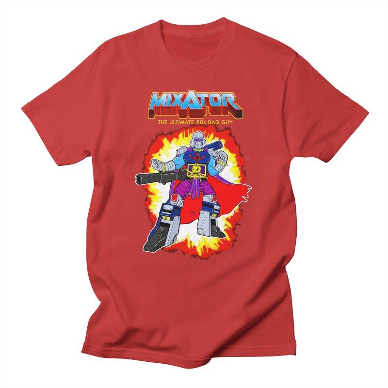 Mixator - The Ultimate 80s Bad Guy Men's Regular T-Shirt by John D-C