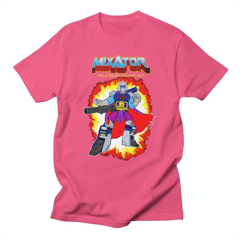 Mixator - The Ultimate 80s Bad Guy Men's Regular T-Shirt by John D-C's Artist Shop