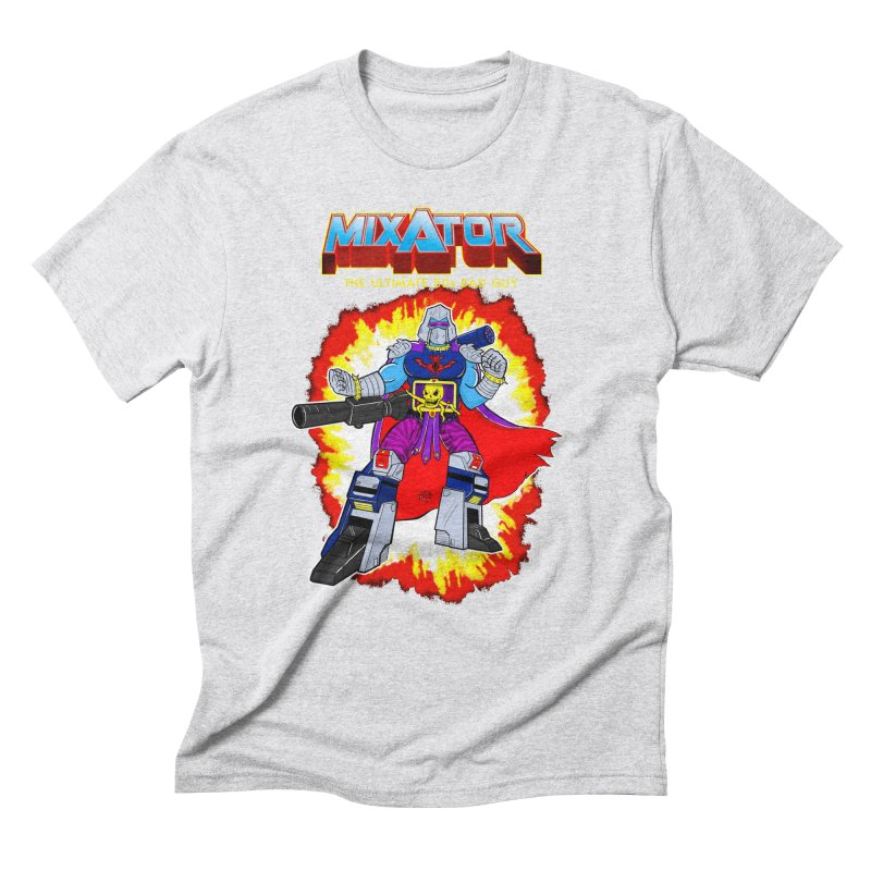 Mixator - The Ultimate 80s Bad Guy Men's Triblend T-Shirt by John D-C