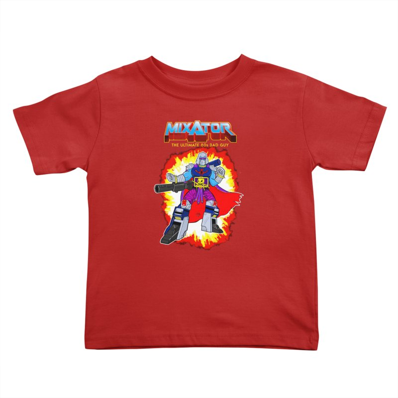 Mixator - The Ultimate 80s Bad Guy Kids Toddler T-Shirt by John D-C's Artist Shop