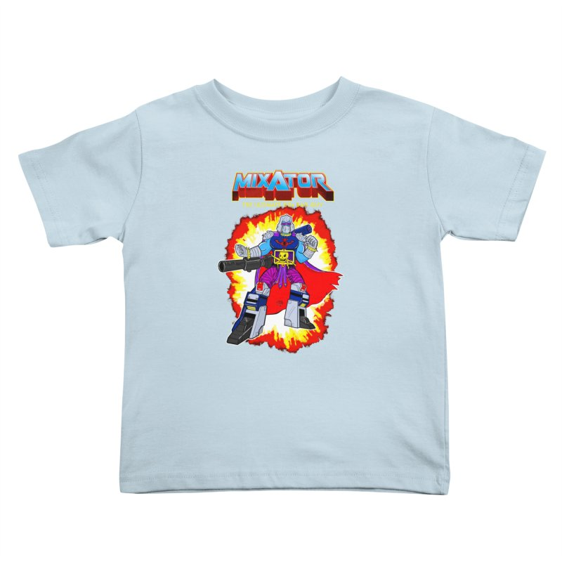 Mixator - The Ultimate 80s Bad Guy Kids Toddler T-Shirt by John D-C