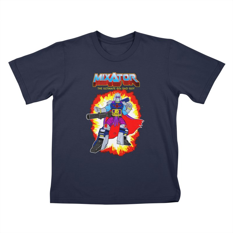 Mixator - The Ultimate 80s Bad Guy Kids T-Shirt by John D-C