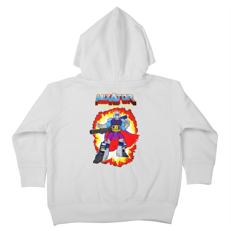 Mixator - The Ultimate 80s Bad Guy Kids Toddler Zip-Up Hoody by John D-C