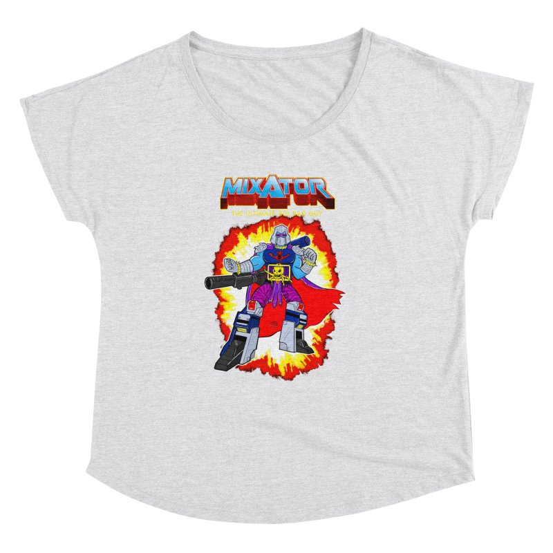 Mixator - The Ultimate 80s Bad Guy Women's Dolman by John D-C's Artist Shop