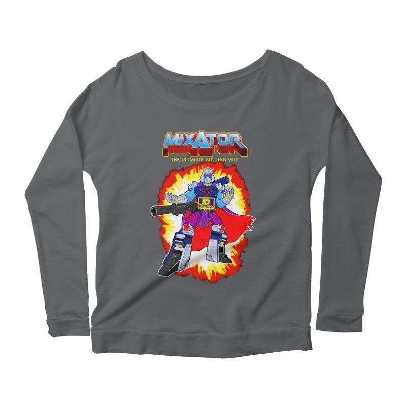 Mixator - The Ultimate 80s Bad Guy Women's Longsleeve T-Shirt by John D-C