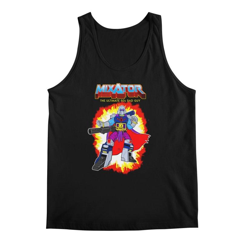 Mixator - The Ultimate 80s Bad Guy Men's Regular Tank by John D-C's Artist Shop