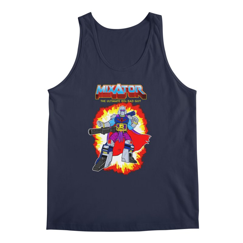Mixator - The Ultimate 80s Bad Guy Men's Regular Tank by John D-C