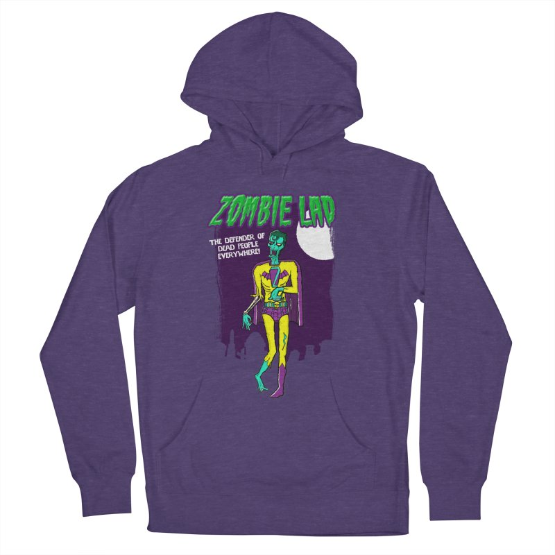 Zombie Lad Men's Pullover Hoody by John D-C's Artist Shop