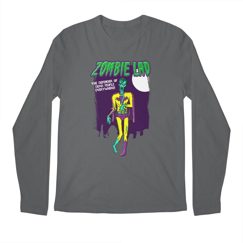 Zombie Lad Men's Longsleeve T-Shirt by John D-C