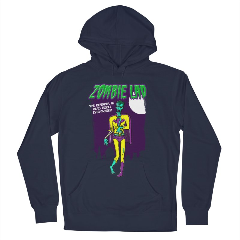 Zombie Lad Women's French Terry Pullover Hoody by John D-C
