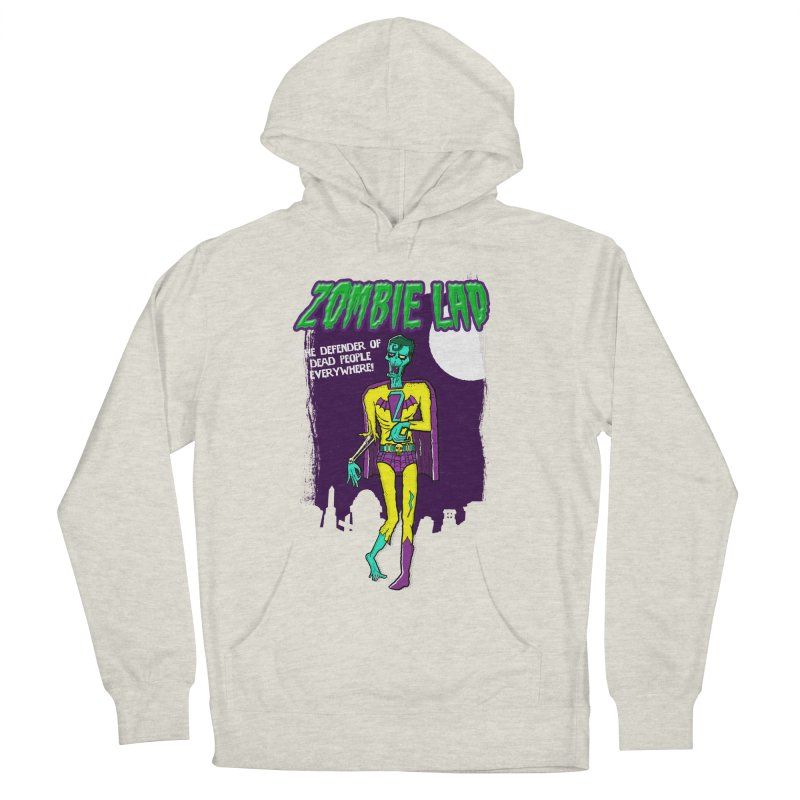 Zombie Lad Men's French Terry Pullover Hoody by John D-C's Artist Shop