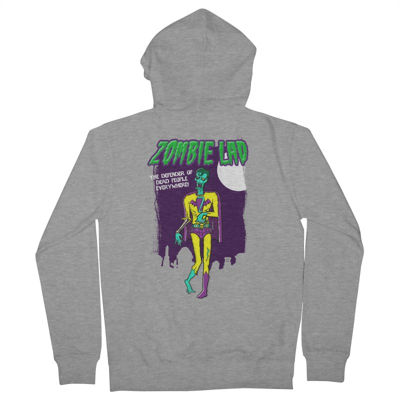 Zombie Lad Women's Zip-Up Hoody by John D-C's Artist Shop