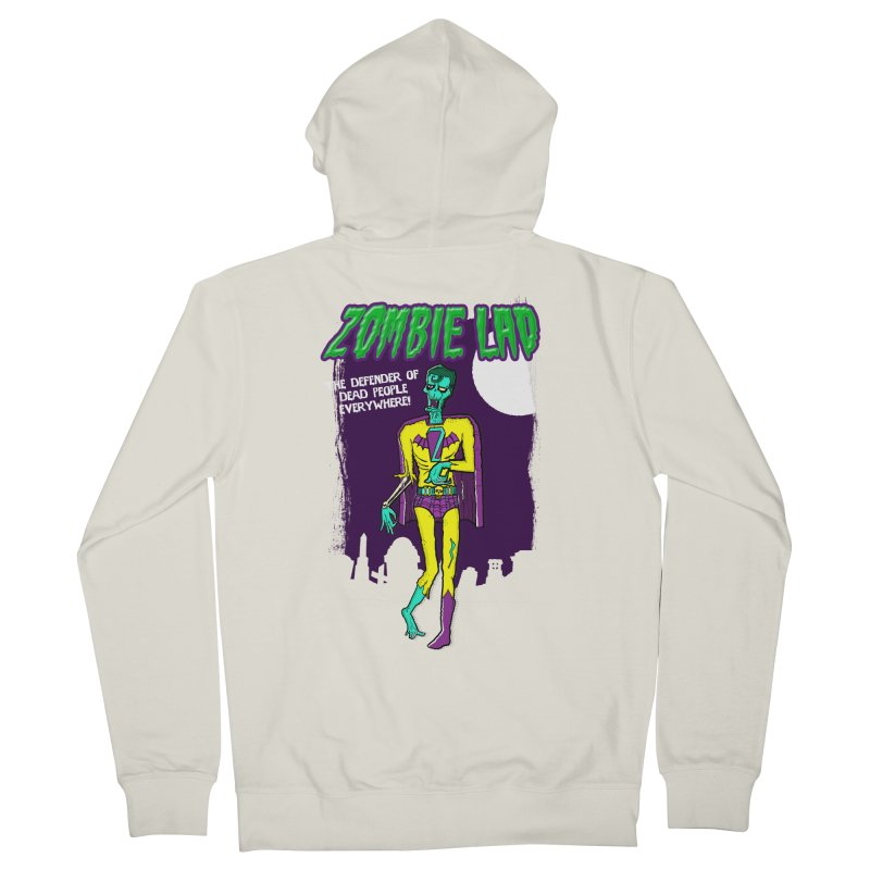 Zombie Lad Women's Zip-Up Hoody by John D-C's Artist Shop