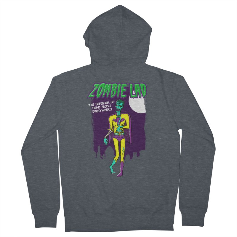 Zombie Lad Men's French Terry Zip-Up Hoody by John D-C
