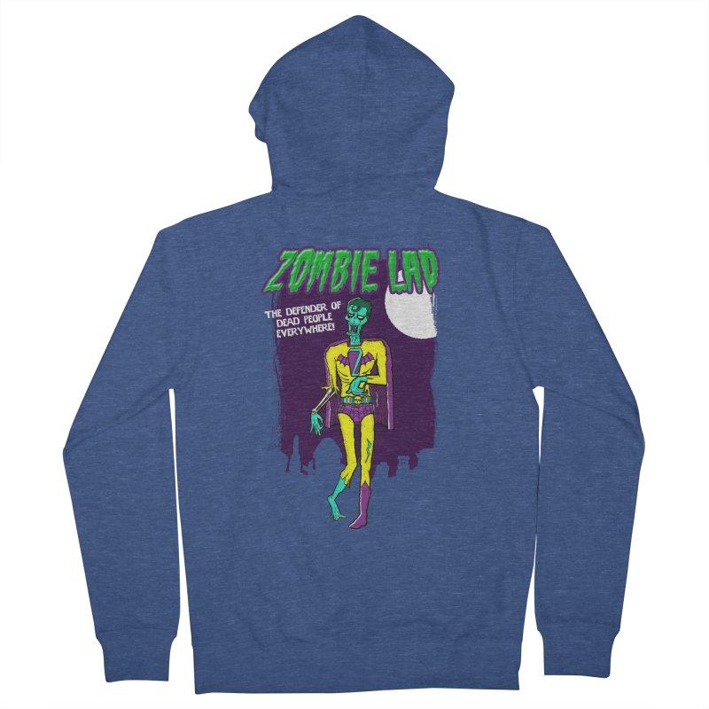 Zombie Lad Men's Zip-Up Hoody by John D-C's Artist Shop