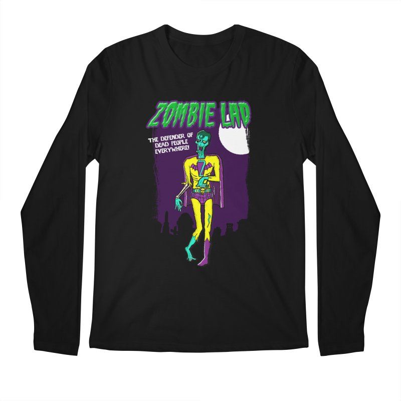 Zombie Lad Men's Longsleeve T-Shirt by John D-C's Artist Shop