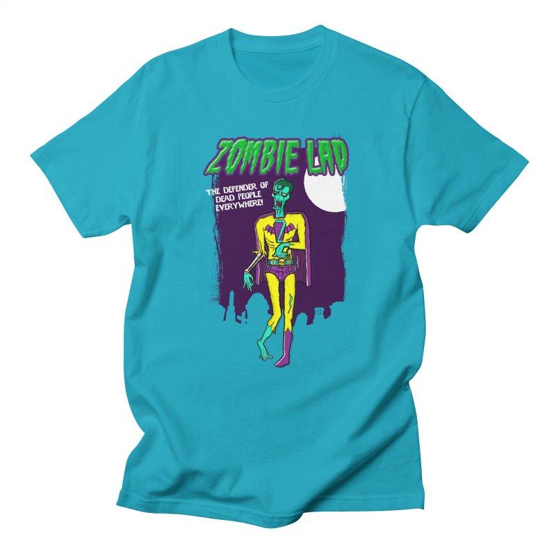 Zombie Lad Men's Regular T-Shirt by John D-C's Artist Shop