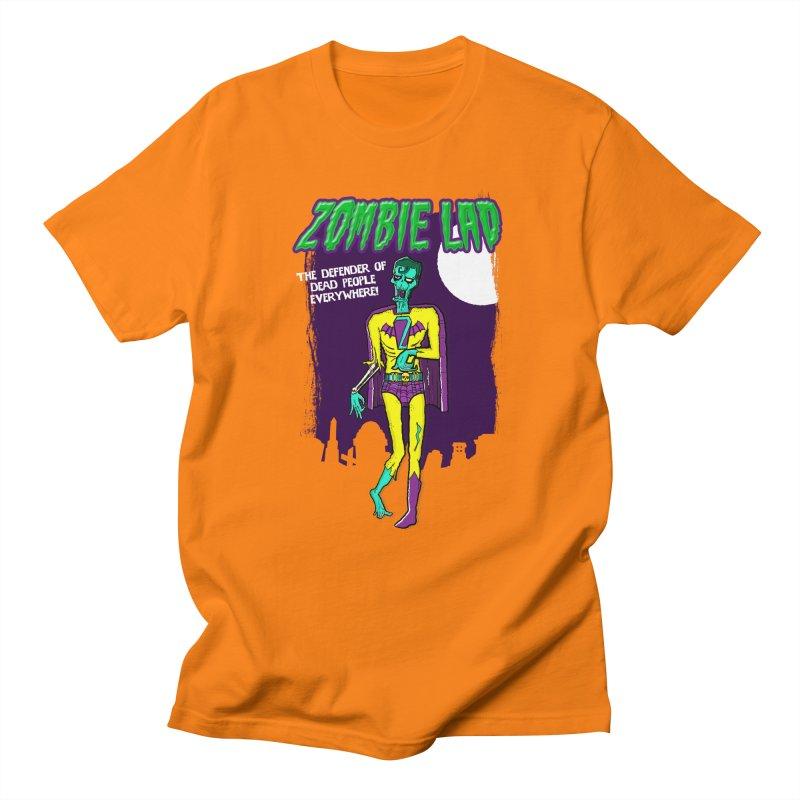 Zombie Lad Men's T-Shirt by John D-C's Artist Shop