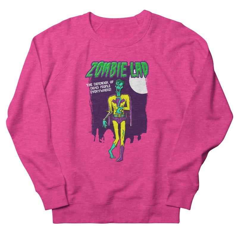 Zombie Lad Women's Sweatshirt by John D-C's Artist Shop