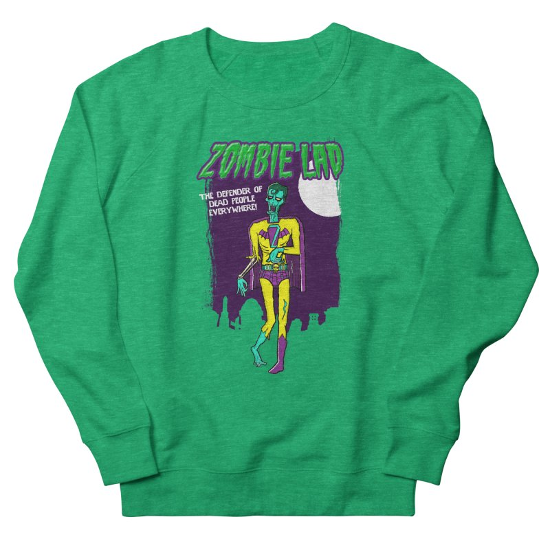 Zombie Lad Men's Sweatshirt by John D-C's Artist Shop