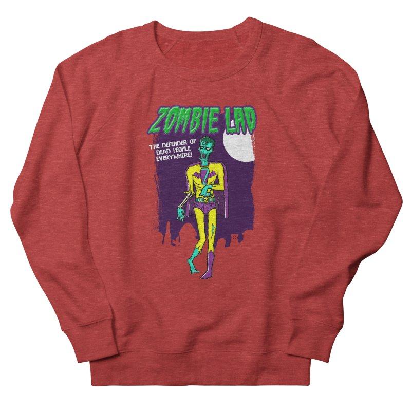 Zombie Lad Men's Sweatshirt by John D-C's Artist Shop