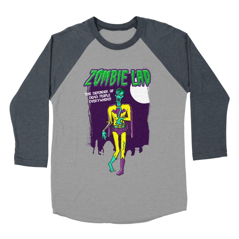 Zombie Lad Women's Baseball Triblend T-Shirt by John D-C's Artist Shop