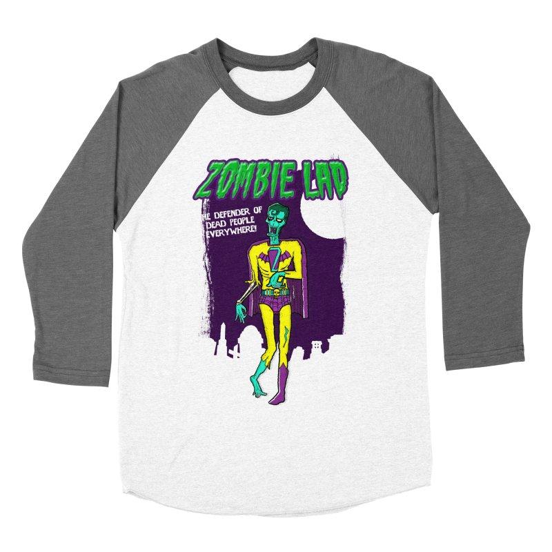 Zombie Lad Men's Baseball Triblend Longsleeve T-Shirt by John D-C's Artist Shop