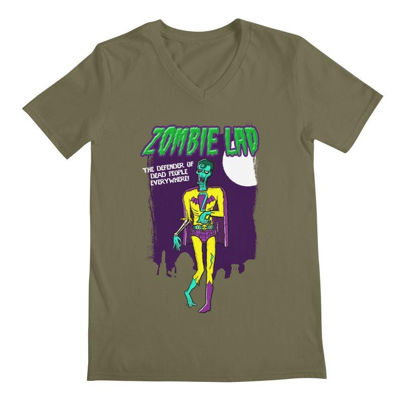 Zombie Lad Men's V-Neck by John D-C's Artist Shop