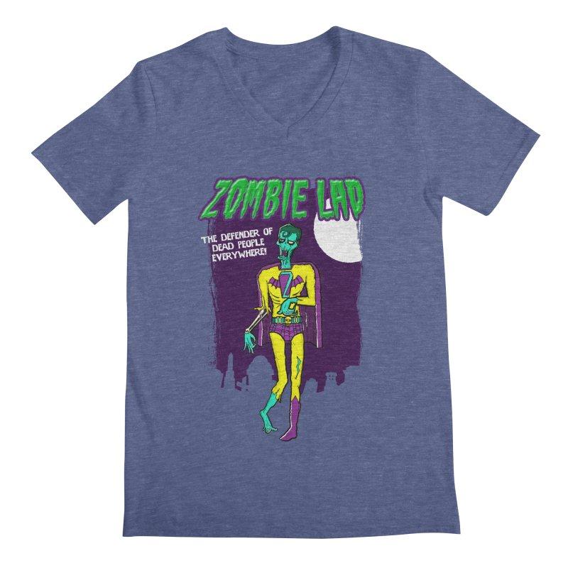 Zombie Lad Men's Regular V-Neck by John D-C